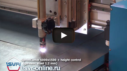 Video SprintCutter 6000х1500